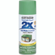Rust-Oleum 249072 Painters Touch 2X Ultra Cover Paint + Primer Leafy Green Satin Spray