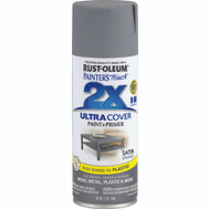 Rust-Oleum 249078 Painters Touch Paint Spray Satin Granite 12 Ounce