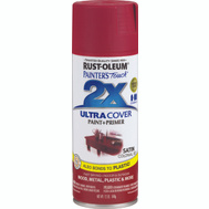 Rust-Oleum 249082 Painters Touch 2X Colonial Red Satin Ultra Cover Spray