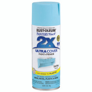 Rust-Oleum 249085 Painters Touch Paint Spray 2X Satin Aqua 12 Ounce
