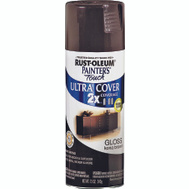Rust-Oleum 249102 Painters Touch 2X Kona Brown Gloss Ultra Cover Spray