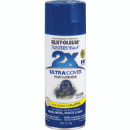 Rust-Oleum 249114 Painters Touch 2X Ultra Cover Paint + Primer Deep Blue Gloss Spray