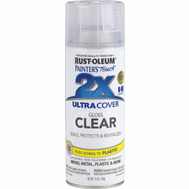 Rust-Oleum 249117 Painters Touch 2X Ultra Cover Paint + Primer Clear Gloss Spray