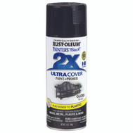 Rust-Oleum 249122 Painters Touch 2X Black Gloss Ultra Cover Spray