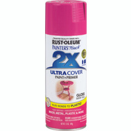 Rust-Oleum 249123 Painters Touch 2X Ultra Cover Paint + Primer Berry Pink Gloss Spray