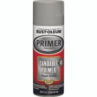 Rust-Oleum 249415 Auto Coatings Gray Sandable Primer 12 Ounce Spray
