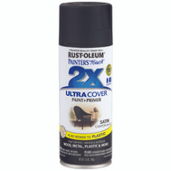 Rust-Oleum 249844 Painters Touch 2X Canyon Black Satin Ultra Cover Spray