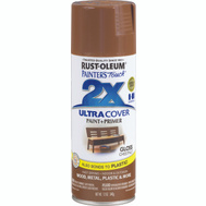 Rust-Oleum 249847 Painters Touch 2X Ultra Cover Paint + Primer Chestnut Gloss Spray