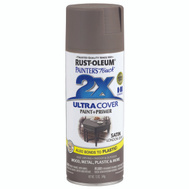 Rust-Oleum 249857 Painters Touch 2X Ultra Cover Paint + Primer London Gray Satin Spray