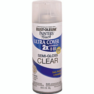 Rust-Oleum 249859 Painters Touch 2X Ultra Cover Paint + Primer Clear Semi-Gloss Spray