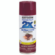 Rust-Oleum 249863 Painters Touch 2X Ultra Cover Paint + Primer Cranberry Gloss Spray