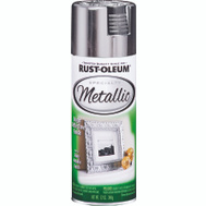 Rust-Oleum 1915830 Metallic Bright Reflective Silver Metallic 11 Ounce Spray