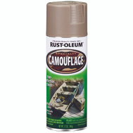 Rust-Oleum 1917830 Specialty Khaki Ultra-Flat Camouflage Spray 12 Ounce
