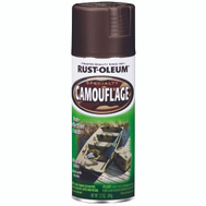 Rust-Oleum 1918830 Specialty Earth Brown Ultra-Flat Camouflage Spray 12 Ounce