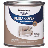 Rust-Oleum 1994730 Painters Choice Ultra Cover Latex Enamel Almond Gloss 1/2 Pint