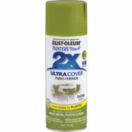 Rust-Oleum 257418 Painters Touch Paint Spray Satin Eden