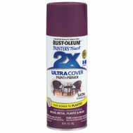 Rust-Oleum 257419 Painters Touch Spray Paint Satin Aubergine