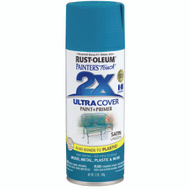 Rust-Oleum 257461 Painters Touch 2X Ultra Cover Paint + Primer Lagoon Satin Spray
