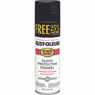 Rust-Oleum 7779838 Stops Rust Black Gloss Protective Enamel 15 Ounce Spray
