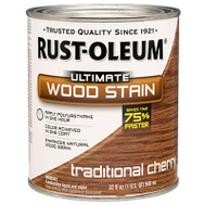 Rust-Oleum 260151 Ultimate Traditional Cherry Wood Care Interior Oil Wood Stain Quart