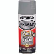 Rust-Oleum 260510 Stops Rust Gray 2 In 1 Filler Sandblast Primer Spray