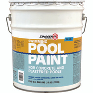 Zinsser 260542 Blue Swimming Pool Paint 5 Gallon Rubber Based