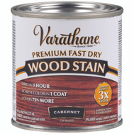 Varathane 262035 Stain Wood Int Cabernet 1/2Pt