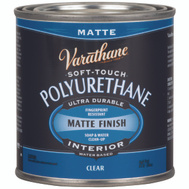 Varathane 262075 Poly Finish Soft Touch 1/2Pt