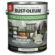 Rust-Oleum 262361 Porch & Floor Porch & Floor Coating Tint Base Semi-Gloss Finish Water Clean Up