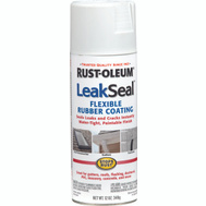 Rust-Oleum 267970 Leakseal White Flexible Rubber Coating Spray