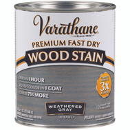 Varathane 269394 Stain Wood Int Wthrd Gray Qt