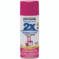 Rust-Oleum 283188 Painters Touch Paint Spray Satin Magenta