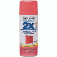 Rust-Oleum 283189 Painters Touch Paint Spray Gloss Coral