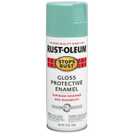 Rust-Oleum 284678 Stops Rust Paint Spry Rust Lt Turq