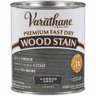 Varathane 304559 Stain Wood Int Carbon Gray Qt
