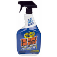 Krud Kutter 305982 The Must For Rust Rust Remover & Inhibitor Gel 32 Ounce Trigger Spray