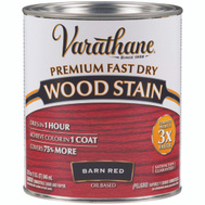 Varathane 307414 Stain Wood Int Barn Red Qt