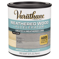 Rust-Oleum 313835 Accelerator Weathered Wood 1Qt