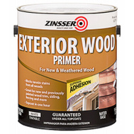 Zinsser 322779 Exterior Wood Primer Water-Based White Gallon