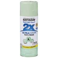 Rust-Oleum 329200 Painters Touch 2X Ultra Cover Paint + Primer Modern Mint Gloss Spray