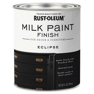 Rust-Oleum 331052 Paint Milk Finish Eclipse 1Qt