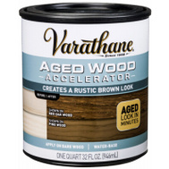 Rust-Oleum 331305 Accelerator Agd Wood Brown 1Qt