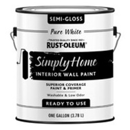 Rust-Oleum 332120 Paint Wall Smglo Pure Wht 1Gal