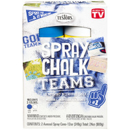 Testors 334330 Matte Washable Spray Chalk Blue & White Set 2 Piece 12 Ounce
