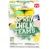 Testors 334335 Matte Washable Spray Chalk Yellow & Green 2 Piece Set 12 Ounce