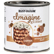 Rust-Oleum 349201 Paint Intense Gltr Copper 8 Ounce