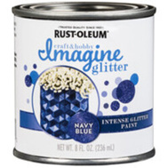 Rust-Oleum 350117 Paint Intense Gltr Nvy Blu 8 Ounce