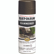 Rust-Oleum 7218830 Stops Rust Dark Bronze Hammered Spray Paint