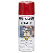 Rust-Oleum 7256830 Stops Rust Spray Stops Rust Metallic Red