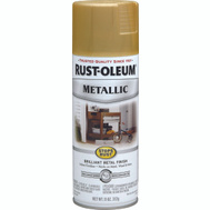 Rust-Oleum 7270830 Stops Rust Gold Rush Metallic 11 Ounce Spray